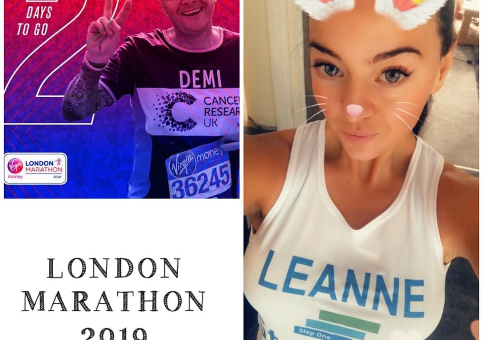 2 Days to go until London Marathon 2019